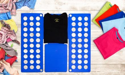 1 ou 2 pliage de vêtement en 5 étapes