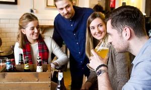Zum Bürgergarten: Bierverkostung nach Wahl, opt. inkl. hausgeschlachteter Platte, für 1, 2 oder 4 im Zum Bürgergarten (bis zu 40% sparen*)