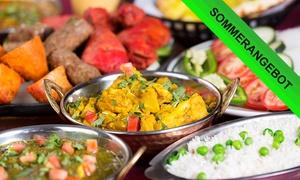 Plenum: Indisches 4-Gänge-Menü für zwei oder vier Personen im RestaurantPlenum (bis zu 59% sparen*)