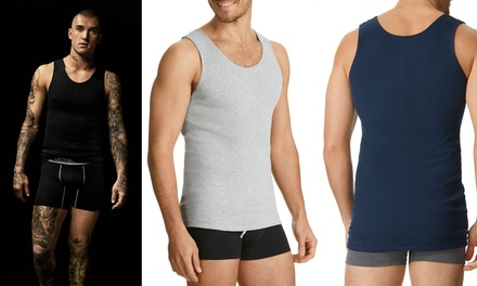 $59 for a Six-Pack of Bonds Men's Chesty Singlets (Don't Pay $101.70)