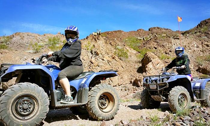 ATV Tour Las Vegas - Las Vegas: 3-Hour Hoover Dam, Lake Mead & Colorado River ATV Scenic Tour for up to 6 from ATV Tour Las Vegas (Up to 48% Off)