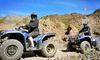 Up to 48% Off Three-Hour ATV Tour for One, Two, Four, or Six