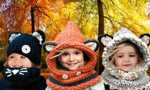 Ensemble bonnet et écharpe enfant