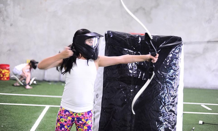 90 Minutes of Archery Tag for One ($19), Two ($38) or 12 People ($199) at The Swing Academy (Up to $320 Value)