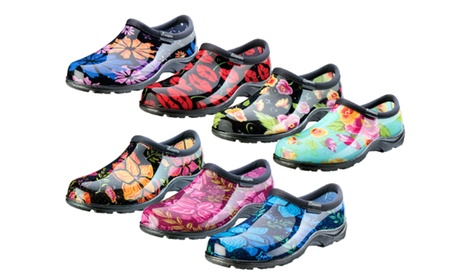 Sloggers Floral Women's Waterproof Garden Shoes