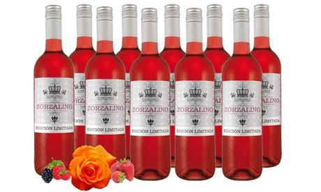 10 Flaschen Spanischer Rosado Rosé-Wein 0,75 l, inkl. Versand in Langen