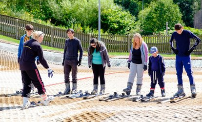 image for One-Hour Skiing or Snowboarding Private Lesson for One or Two at Ackers Adventure Centre (Up to 56% Off)