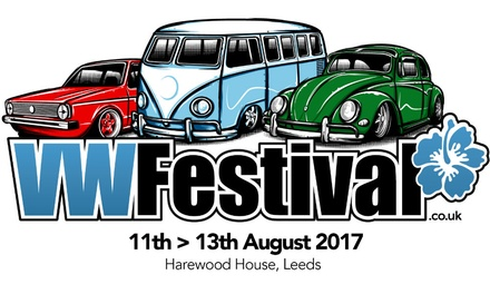 VW Festival: Adult Ticket, Harewood House, 12 August