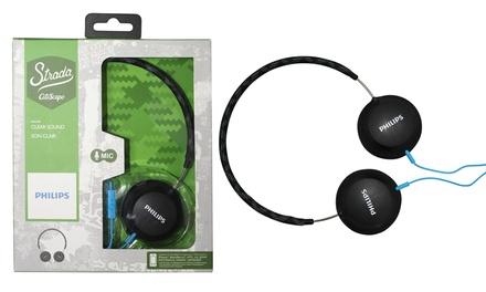 Philips Stereo-Headset mit Mikrofon Strada Citi Scape, SHL5105 in Schwarz (63% sparen*)