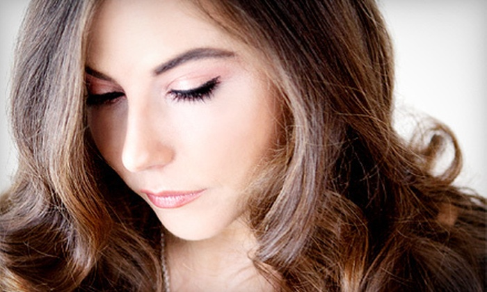 Intrigue Hair Studio & Spa - Greece: Haircut and Conditioning with Optional Highlights or Facial and Manicure at Intrigue Hair Studio & Spa (Up to 63% Off)