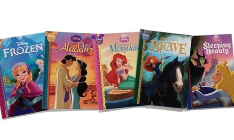 Disney Princess Book Bundle (5-Piece) 01c7fe20-2bbc-443c-a3da-56adcbd924a8
