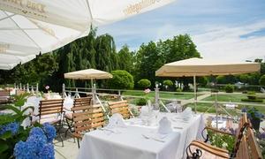 Restaurant Herrenhaus: Afternoon Tea inkl. Sekt, Gebäck und Seeblick für 2 oder 4 Personen im Restaurant Herrenhaus (bis zu 45% sparen*)