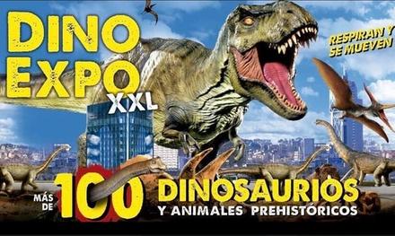 2 entradas para adulto y/o niño a Dino Expo XXL en Madrid hasta el 13 de marzo (33% de descuento)
