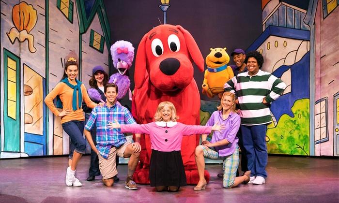 """Clifford the Big Red Dog"" - Levoy Theatre: ""Clifford the Big Red Dog Live!"" on October 25 at 2 p.m. or 5 p.m."