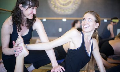image for $19.99 for Month of Unlimited <strong>Classes</strong> Including Yoga, Hot Yoga, Barre at Mountain Yoga Sandy ($175 Value)