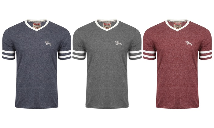 Tokyo Laundry Men's V-Neck T-Shirt in Choice of Colour for £7