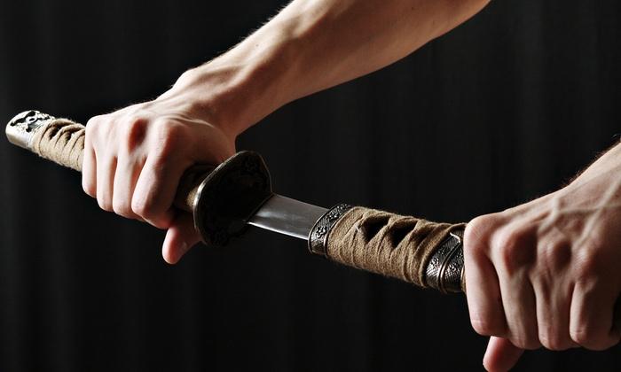 Tojokan Dojo - San Jose: One Month of Unlimited Shinkendo or Aikibujitsu Classes or Four Classes at Tojokan Dojo (Up to 81% Off)