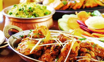 Indian Dinner Banquet for Two ($35) or Four People ($69) at Curry Lounge Tranmere (Up to $165.50 Value)