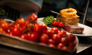 The Winery Bar and Restaurant: Two-Course Lunch for Two or Four at The Winery Bar and Restaurant (26% Off)