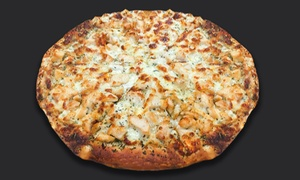 "A Pizza Heaven: $10 for 12-Slice X-Large 16"" BBQ Chicken Pizza ($19 Value) — A Pizza Heaven"