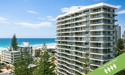 ✈ Surfers Paradise: From $559 Per Person (Quad Share) for 5 Nights with Flights at Surfers Beachside Holiday Apartments