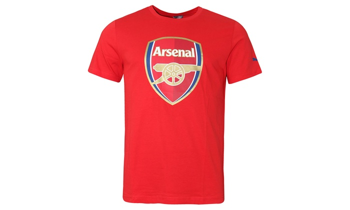 1a5db31d9656 Puma Arsenal Crest Fan T-Shirt