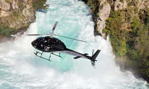 Inflite and Hilton: $359 for a Helicopter Flight Over Taupo and Two-Course Lunch for Two at the Hilton from INFLITE and Hilton ($462 Value)