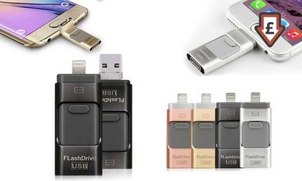 iFlash Drive for iPhone or iPad  8GB, 16GB, 32GB or 64GB