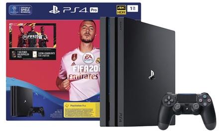 PlayStation 4 Pro Sony 1TB con el juego FIFA 20