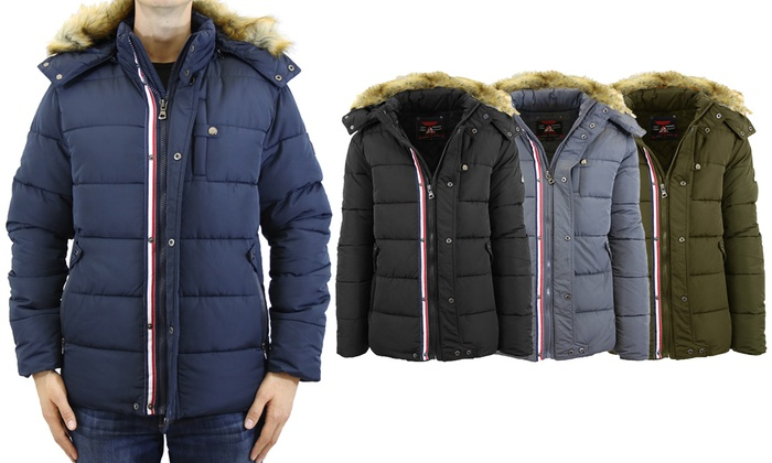 8f2d56f11 Up To 59% Off on Men's Hooded Parka Jacket | Groupon Goods