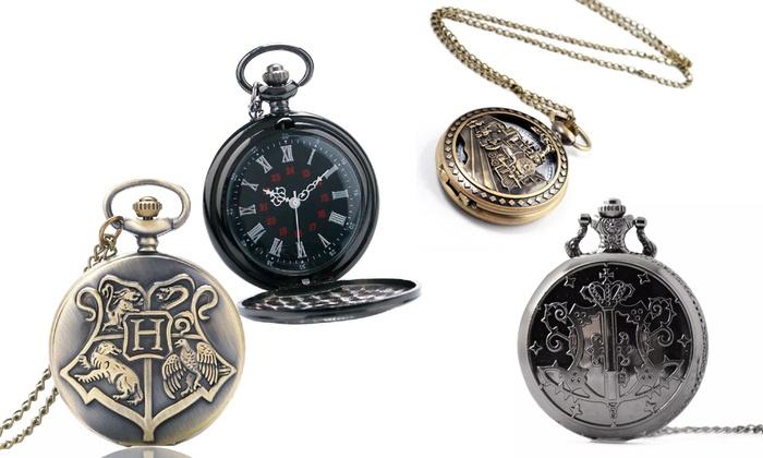Vintage-Style Pendant Pocket Watch