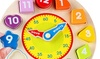 One or Two Wooden Learning Clocks