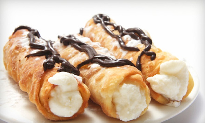 Original Ferrara Bakery - Tri-Taylor: One Dozen Cannoli or $5 for $10 Worth of Baked Goods and Dine-In Entrees at Original Ferrara Bakery