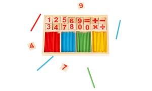 Set de calcul en bois Montessori
