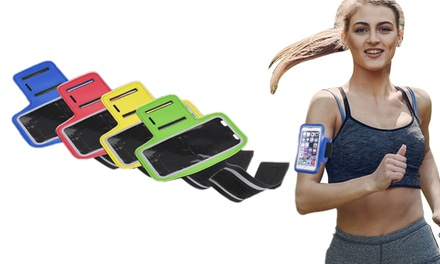 Brazalete deportivo ajustable con pantalla táctil
