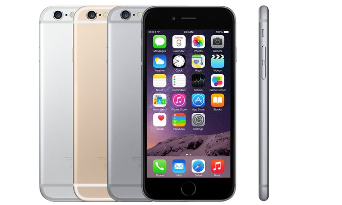 apple refurbished iphone refurbished apple iphone 6 groupon 1584