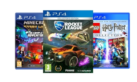 Rocket League $39 95, LEGO Harry Potter or Minecraft Story Mode