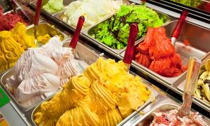 Bar Allo' Paris: Uno o 2 kg di gelato artigianale a scelta tra diversi gusti più 6 o 12 cialde al bar Allo' Paris (sconto fino a 59%)
