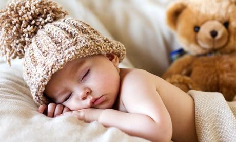 Sesión fotográfica de bebé en estudio desde 24,95 € en Sanctus Fotografia