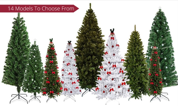 Christmas Tree with Ornaments | Groupon Goods