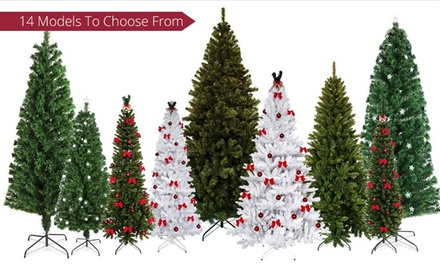 for an Artificial Christmas Tree with Ornaments