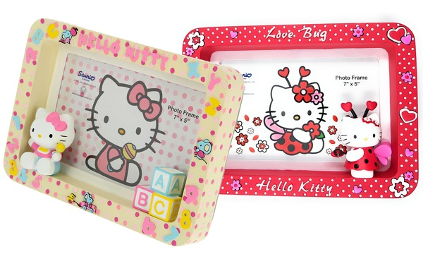 Cornice foto Hello Kitty Sanrio in ceramica disponibile in 3 modelli con spedizione gratuita