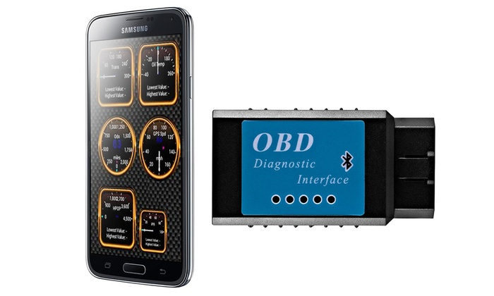 Up To 43% Off on Bluetooth OBD-II Car Auto Dia    | Groupon Goods