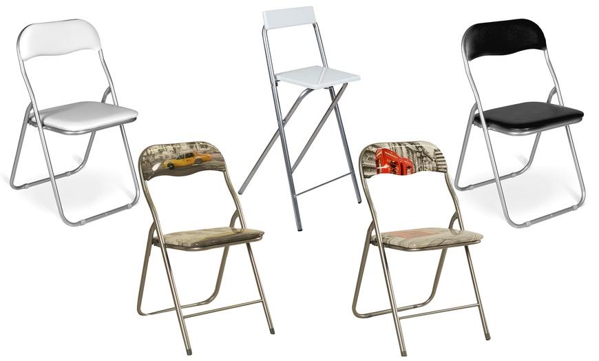 Set sedie o sgabelli pieghevoli | Groupon Goods