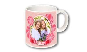 Personaliza.com: Cojín o tazas personalizadas (1 o 2) con envío gratuito desde 15,90 € en Personaliza.com
