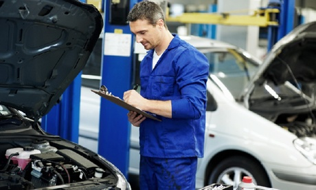 Oil Change Package at Motion Automotive (Up to 44% Off). Four Options Available.