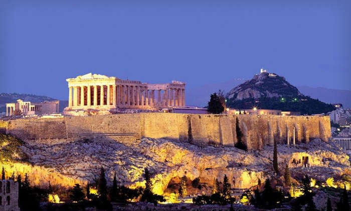 Greek Island Tour and Cruise with Airfare: Seven-Day Tour of Greece with Round-Trip Airfare and Guided Tour of Athens from Hellenic Holidays Inc.