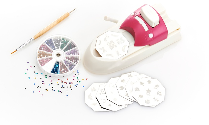 Hollywood Nails All In One Nail Art System Groupon