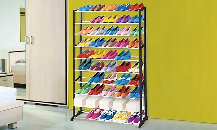 Schuhregal 50 Paar Schuhe.Schuhregal Für 50 Paar Schuhe
