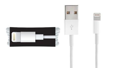 Hasta 2 cables USB Lightning Apple